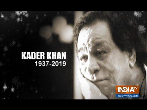 RIP Kader Khan: Remembering veteran actor through his extra-ordinary journey