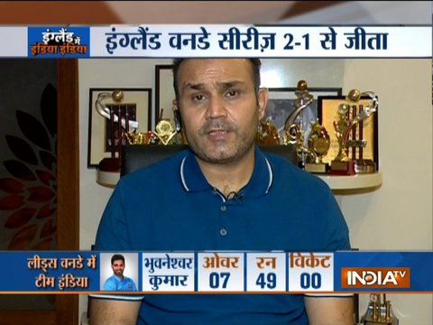 Exclusive: वीरेंद्र सहवाग ने सीरीज हार के लिए बल्लेबाजों को ठहराया जिम्मेदार