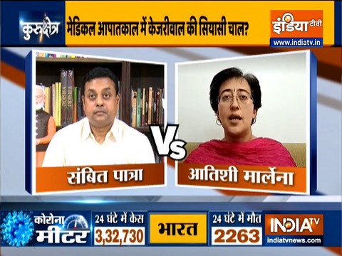 Kurukshetra: Political spar over oxygen shortage in Delhi, Watch full Debate