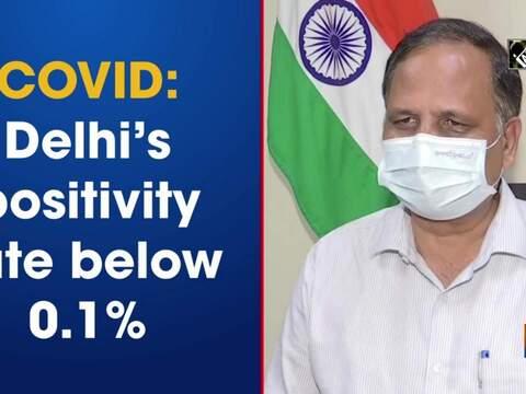 COVID: Delhi's positivity rate below 0.1%