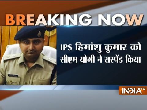 Uttar Pradesh Police suspends IPS Himanshu Kumar for indiscipline