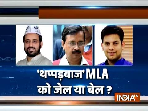 Delhi Chief Secretary assault case: Accused AAP MLAs appear before Tees Hazari Court