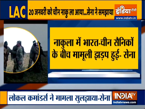 Indian, Chinese troops clash at Naku La in Sikkim; 'minor face-off' resolved by local commanders, says Army