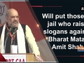 Will put those in jail who raise slogans against 'Bharat Mata': Amit Shah