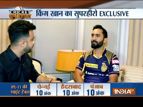 Exclusive | KKR will play at one step at a time: Dinesh Karthik to India TV