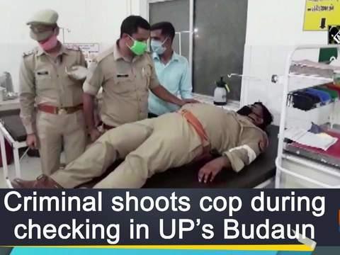 Criminal shoots cop during checking in UP's Budaun