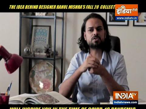 Designer Rahul Mishra shares idea behind his latest collection
