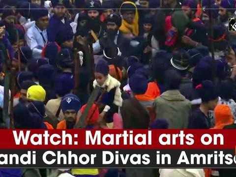 Watch: Martial arts on Bandi Chhor Divas in Amritsar