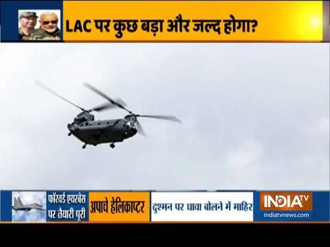 लद्दाख में तैनात भारतीय वायुसेना के सुखोई, अपाचे, मिग चीन को एक मजबूत संदेश देंगे
