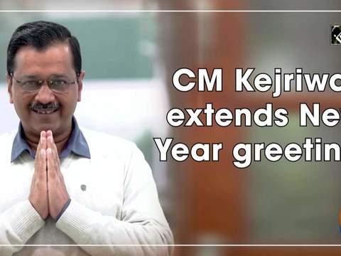 CM Kejriwal extends New Year greetings