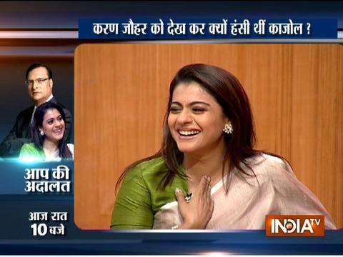 Watch what Kajol said on her relationship with Karan Johar in Aap Ki Adalat tonight at 10