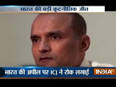 International Court of Justice stays Kulbhushan Jadhav death sentence
