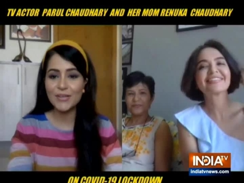 Parull Chaudhary reveals how she is making the best of her quarantine