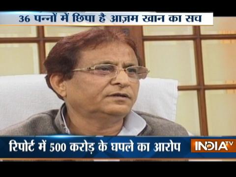 Report suggest SP leader Azam Khan involvement in Rs 500 crore waqf graft