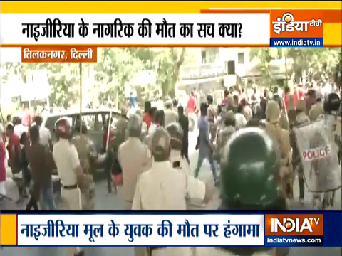 Delhi: Tensions prevail in Tilak Nagar after death of Nigerian national