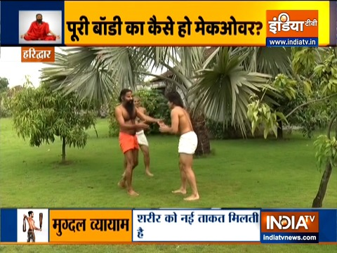 Swami Ramdev talks about traditional ways of keeping fit