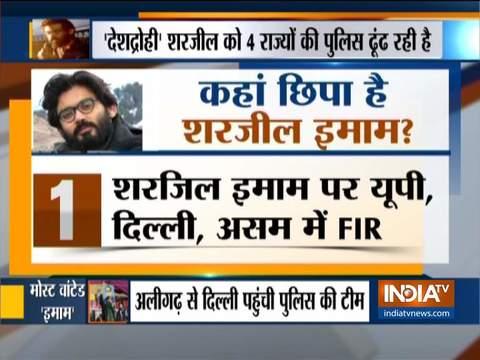 भड़काऊ वीडियो को लेकर दिल्ली पुलिस क्राइम ब्रांच ने शरजील इमाम के खिलाफ FIR की दर्ज