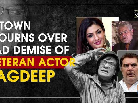 B-Town mourns over sad demise of veteran actor Jagdeep