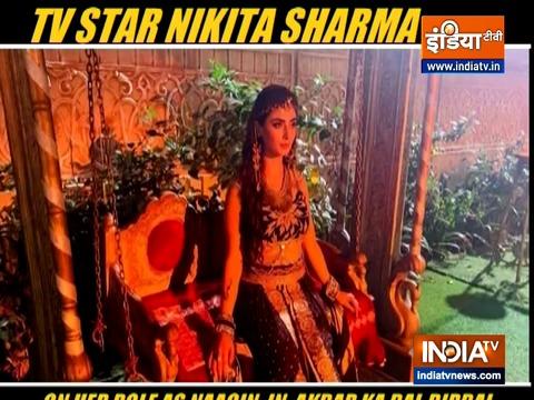 नागिन 5 में अपने रोल के बारे में बता रही हैं टीवी एक्ट्रेस निकिता शर्मा