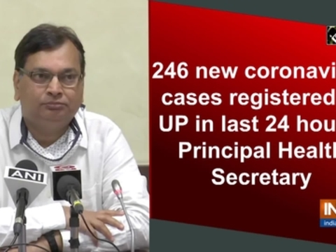 246 new coronavirus cases registered in UP in last 24 hours: Principal Health Secretary