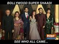 Bollywood celebrities attend reception of Mukesh Bhatt's daughter