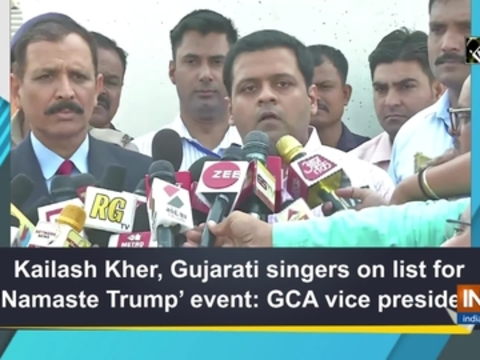 Kailash Kher, Gujarati singers on list for 'Namaste Trump' event: GCA vice president