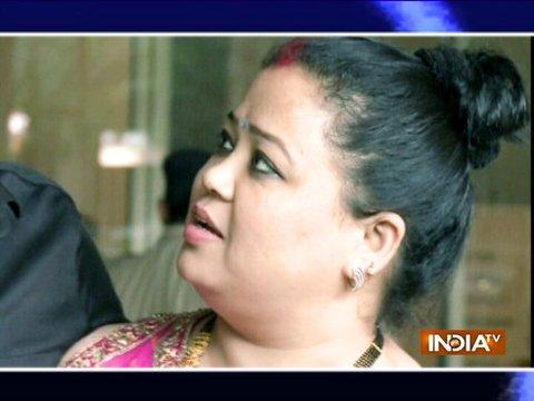 Newlyweds Bharti-Harsh back in Mumbai