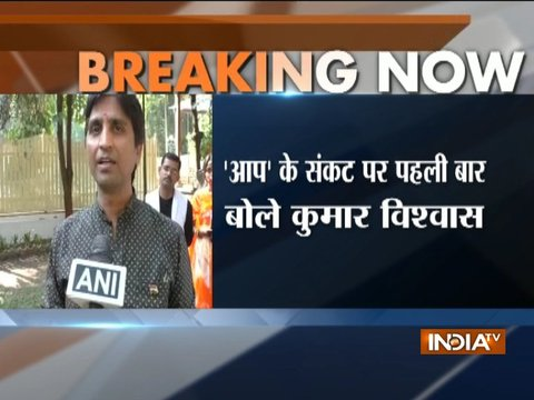 AAP MLAs disqualification: Sad to see a big movement reaching this stage, says Kumar Vishwas