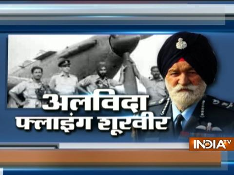 Marshal Arjan Singh's State Funeral: Glimpse Of His Air Force Journey