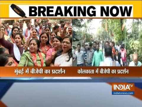 राफेल फैसला: राहुल गांधी की माफी की मांग को लेकर देशभर में बीजेपी का विरोध प्रदर्शन