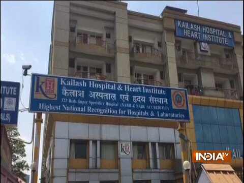 VIDEO: Kailash Hospital in Noida faces oxygen shortage