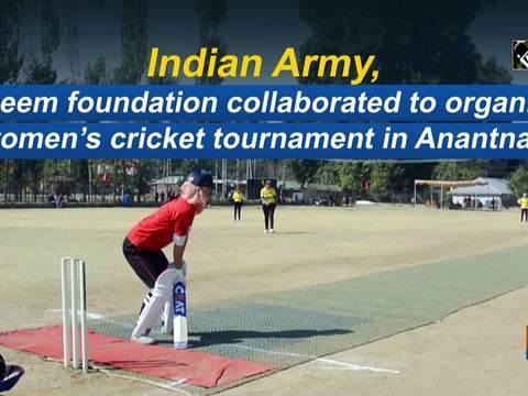 Indian Army, Aseem foundation collaborated to organize women's cricket tournament in Anantnag