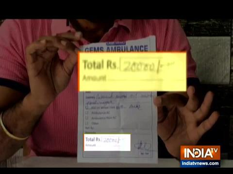 Ahmedabad: Private ambulance service charges patient Rs 20,000 in for transport