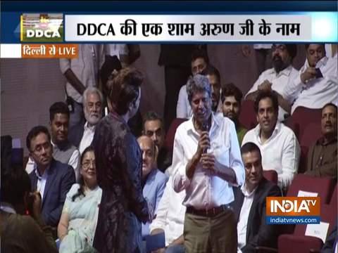 भारतीय क्रिकेट में अरुण जेटली का योगदान बहुत बड़ा है: कपिल देव
