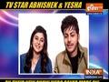 TV actors Abhishek and Yesha on their new show 'Hero Gayab Mode On'