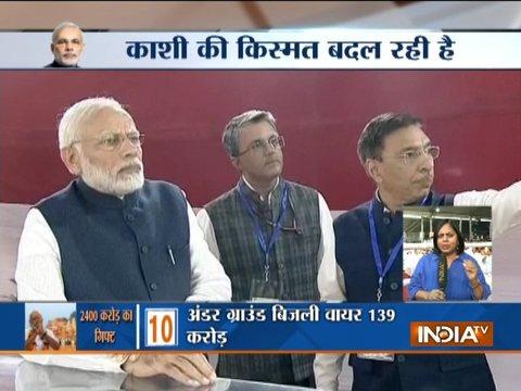 Modi in Varanasi: PM dedicates Multi-Modal terminal to nation