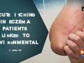 Acute itching in eczema patients linked to environmental allergens