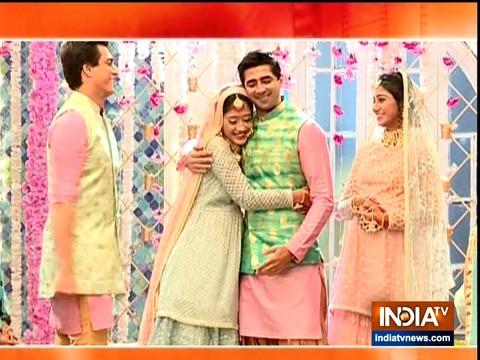 Naira and Keerti celebrate their baby shower in Yeh Rishta Kya Kehlata Hai