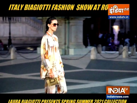 Witness the sizzling Italy Biagiotti fashion show that took place in Rome