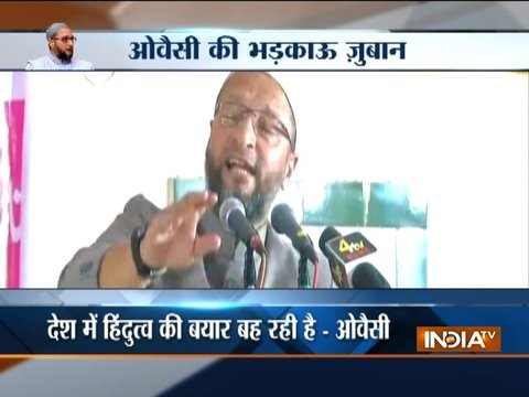 Owaisi warns Muslims on Ayodhya, says RSS-BJP want to influence SC verdict