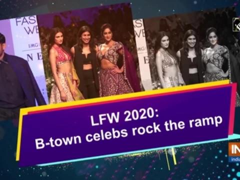 LFW 2020: B-town celebs rock the ramp