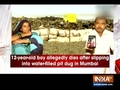 Farmers use toxic drain water for growing vegetables in Delhi's Mungeshpur village