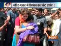 UP: Thousands gather to catch a glimpse of Priyanka Gandhi in Bhadohi