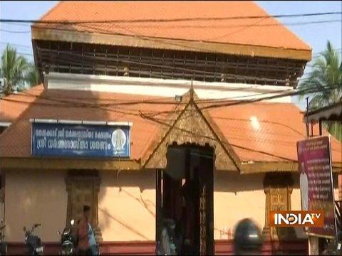 सबरीमाला मंदिर में महिलाओं की एंट्री को लेकर हंगामा जारी, प्रदर्शनकारी हिरासत में लिए गए