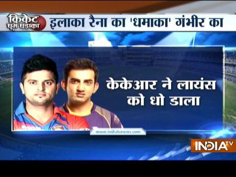 IPL 2017: Gambhir, Lynn star as KKR crush Gujarat by 10 wickets
