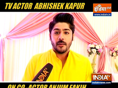Kundli Bhagya actor Abhishek Kapur reveals why his co-actor Anjum Fakih is missing from the sets