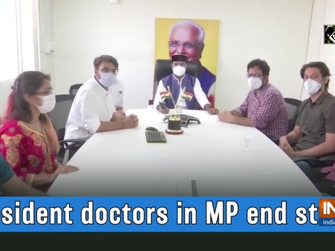 Resident doctors in MP end strike
