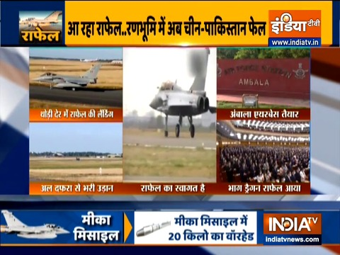 India all set to welcome first batch of five Rafale aircrafts