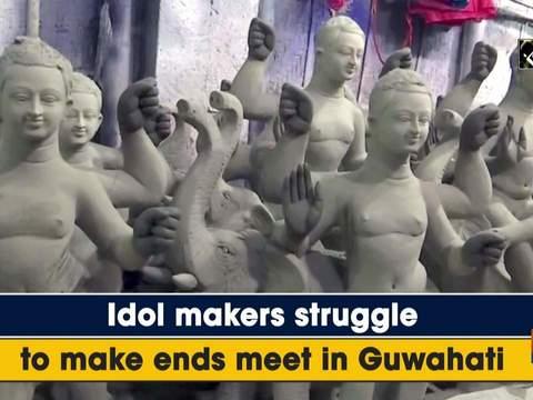 Idol makers struggle to make ends meet in Guwahati