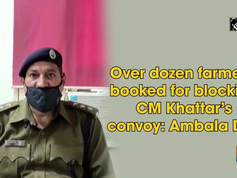 Over dozen farmers booked for blocking CM Khattar's convoy: Ambala DSP